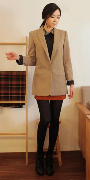 Váy ngắn và legging trẻ trung ngày lạnh - 10