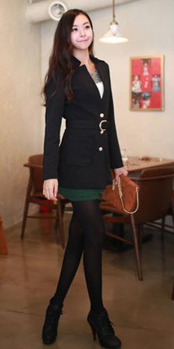 Váy ngắn và legging trẻ trung ngày lạnh - 15