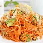 Ẩm thực - Salad cà rốt bổ dưỡng làm cực nhanh