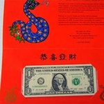 Tài chính - Bất động sản - Mỹ phát hành tiền may mắn năm con Rắn