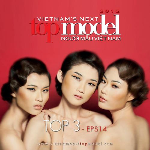 Loại 4 thí sinh, lộ diện Top 3 Top Model - 1