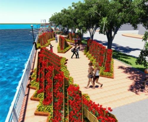 Đà Nẵng: 17 tỷ làm 1 km đường hoa xuân - 2