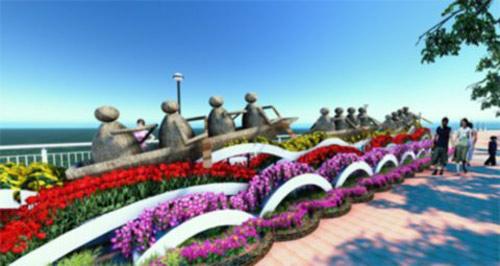Đà Nẵng: 17 tỷ làm 1 km đường hoa xuân - 3
