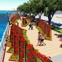 Đà Nẵng: 17 tỷ làm 1 km đường hoa xuân