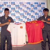 ĐTVN ra mắt áo đấu AFF Suzuki Cup 2012