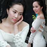 Ngôi sao điện ảnh - Quỳnh Nga khoe làn da trắng ngần