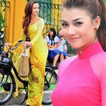 Thời trang - Bí quyết mặc áo dài đẹp cho cô giáo trẻ