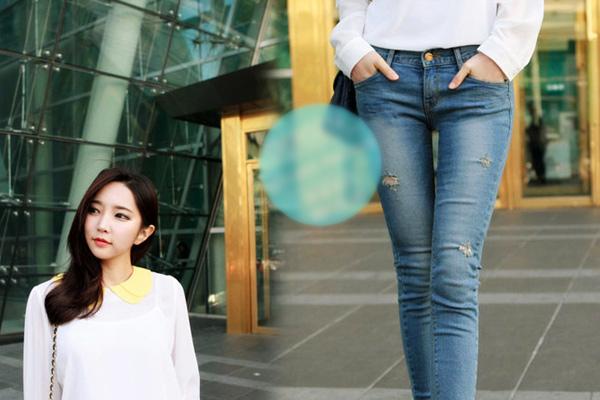 Xuống phố ngày đông thật sexy với Jeans - 11