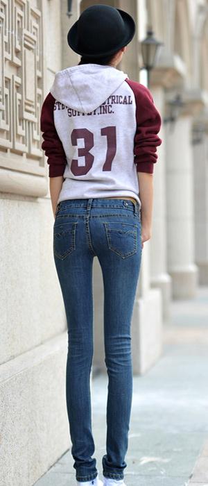 Xuống phố ngày đông thật sexy với Jeans - 9