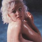"Ảnh nude  "" nóng hổi ""  của Marilyn Monroe"