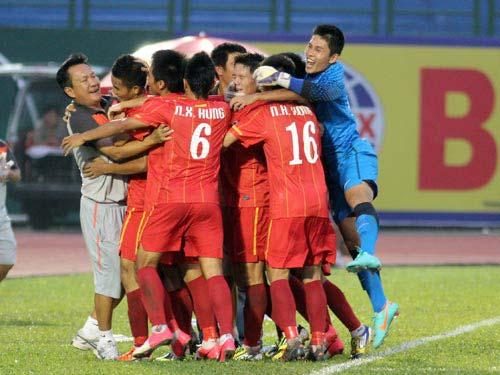 Văn Thắng đưa U22 VN vào bán kết BTV Cup 2012 - 1