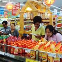 Giá lương thực, thực phẩm giảm nhẹ