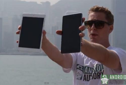 """Màn hình iPad Mini """"chất"""" hơn Nexus 7 - 1"""