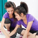 Bạn trẻ - Cuộc sống - Miss Teen hào hứng học Teamwork