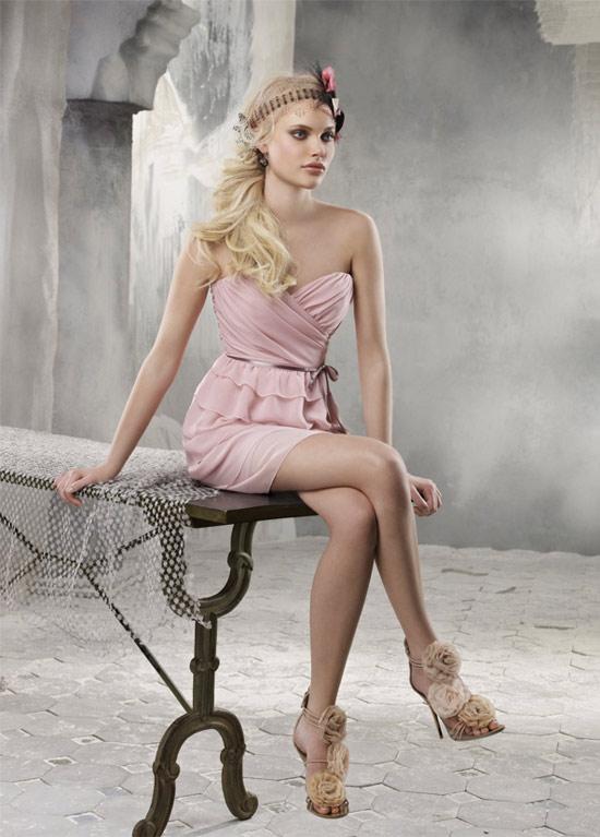 Váy phù dâu lãng mạn và yêu kiều - 10