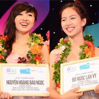 Hai nữ sinh xinh đẹp đăng quang Hot Vteen