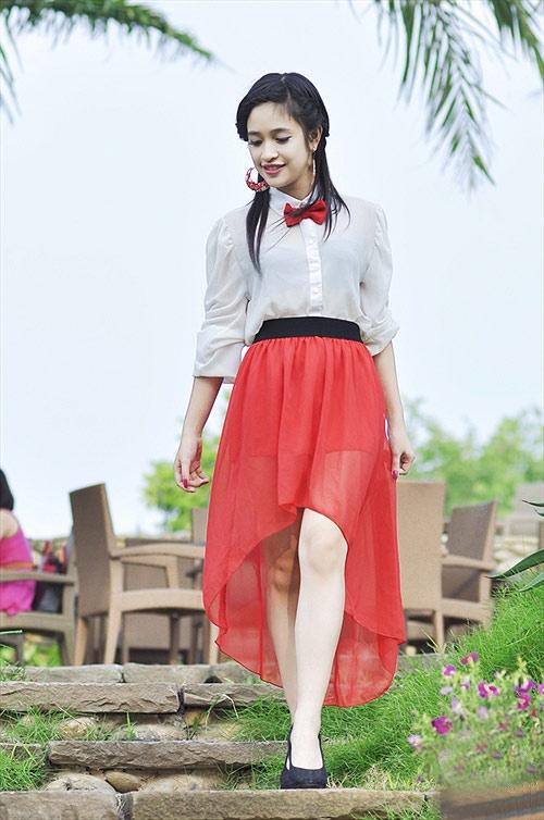 Nàng thơ xinh đẹp của Miss Teen 2012 - 9