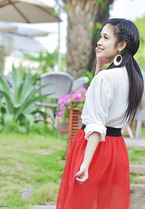 Nàng thơ xinh đẹp của Miss Teen 2012 - 1