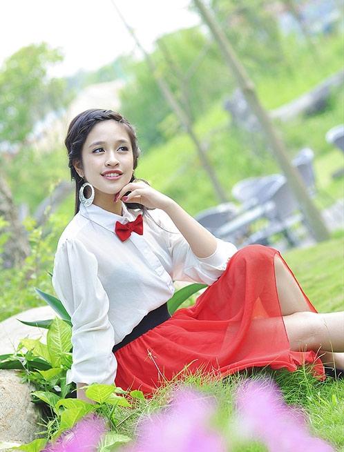 Nàng thơ xinh đẹp của Miss Teen 2012 - 5