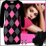 Thời trang - Váy len khoe đường cong ngọt lịm!