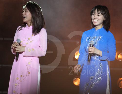 Wonder Girls mặc áo dài hát Nobody - 7