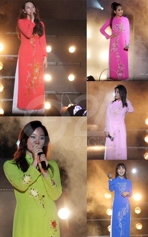 Wonder Girls mặc áo dài hát Nobody - 8