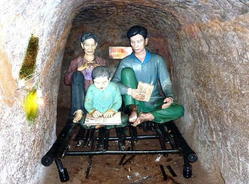 Các địa đạo nổi tiếng của Việt Nam - 9