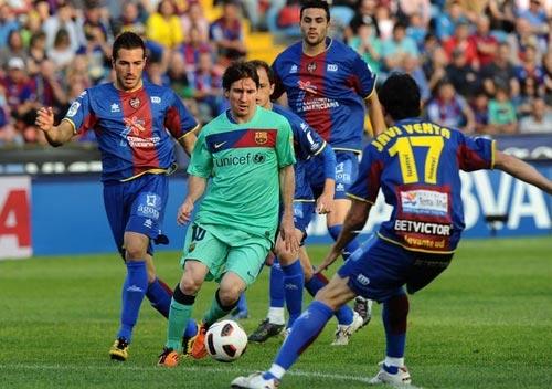 Levante – Barca: Công cường đấu thủ chắc - 1