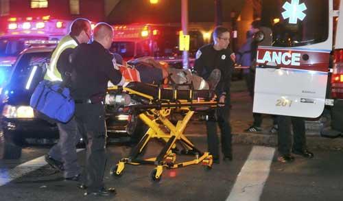 Bộ Ngoại giao Mỹ cháy: 4 người bị thương - 8