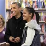 Tin tức trong ngày - Obama dẫn con gái đi mua sách dịp Giáng sinh