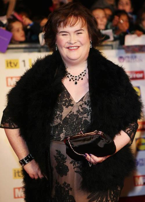 """""""Người đàn bà hát"""" Susan Boyle lên phim - 1"""
