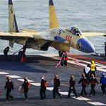 Tin tức trong ngày - TQ: Chiến đấu cơ lần đầu hạ cánh trên tàu sân bay