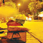 Ẩm thực - Ngô nướng đêm Hà Nội