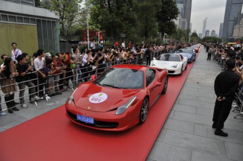 Ferrari kỷ niệm hoành tráng tại Trung Quốc - 1