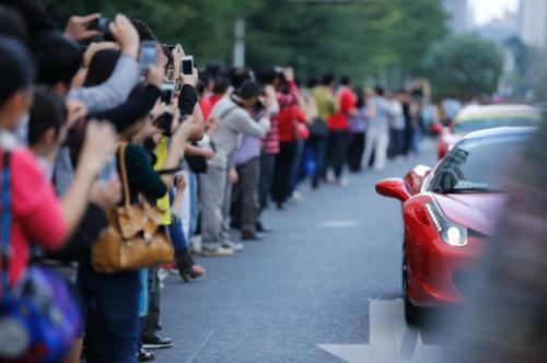 Ferrari kỷ niệm hoành tráng tại Trung Quốc - 4