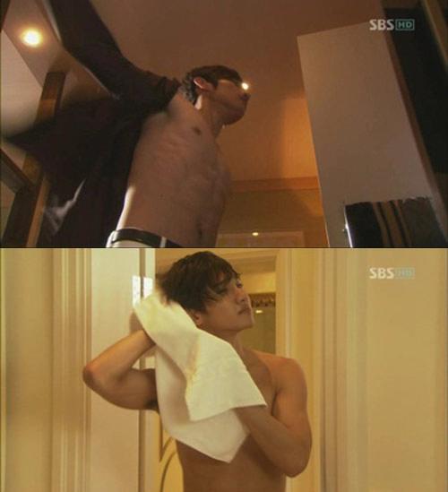 Mỹ nam Hàn sexy với cảnh tắm - 11