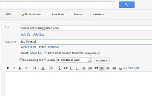 Cách gửi email đính kèm file với mọi dung lượng - 3