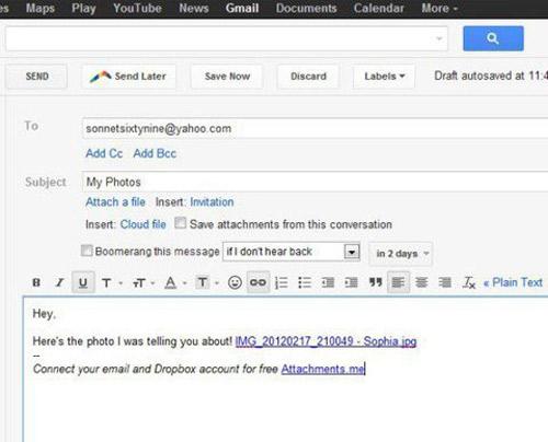 Cách gửi email đính kèm file với mọi dung lượng - 5