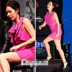 Thời trang - Sao Hàn loay hoay giữ váy
