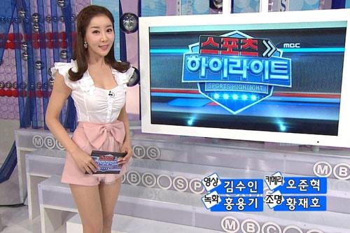Choáng với MC truyền hình Hàn - 12