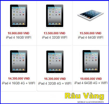 Khuyến mãi lớn khi mua iPad 4 tại Râu Vàng - 3