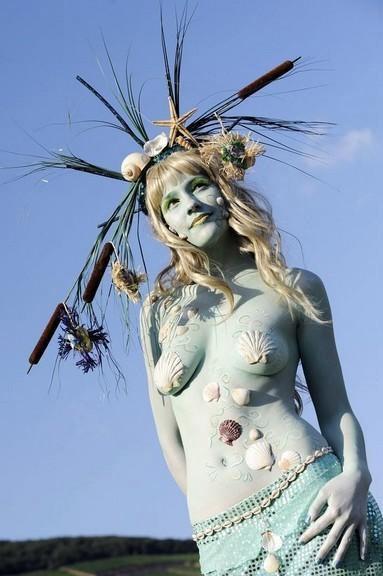 Những cơ thể nude sơn màu tuyệt đẹp - 8