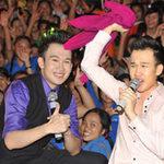 Ngôi sao điện ảnh - Quá sung, Dương Triệu Vũ cởi áo tặng fan