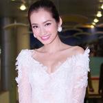 Thời trang - Trúc Diễm trắng muốt tại Hà Nội