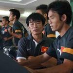 Bóng đá - ĐT Việt Nam tập chay tại khách sạn