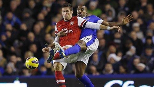 Everton - Arsenal: Đánh rơi lợi thế - 1