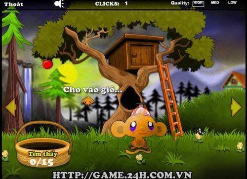 Game hay: Chú khỉ buồn 9 - 1