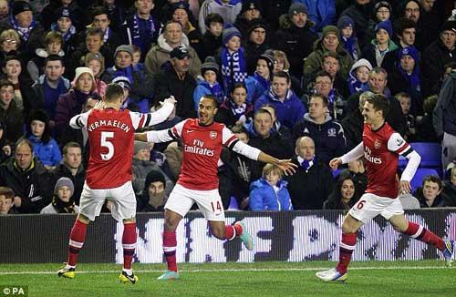 Arsenal lại hòa: Lực bất tòng tâm - 1