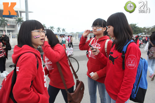 Fan Việt đội mưa, rét xem Kpop - 5