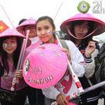 Fan Việt đội mưa, rét xem Kpop